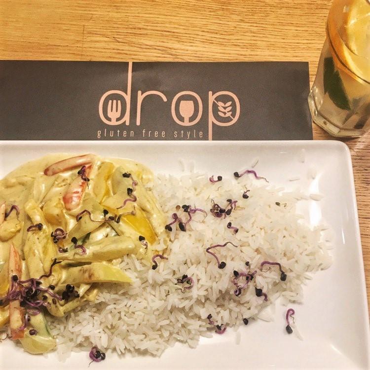 thai curry glutenfrei - drop restaurant