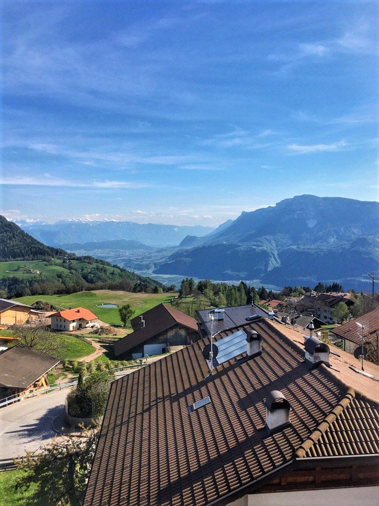 Aussicht Balkon Schlaneiderhof