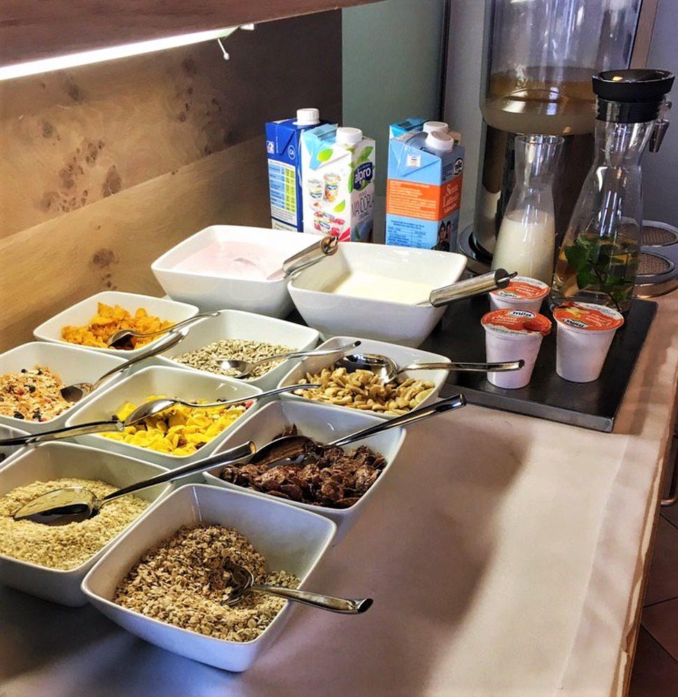 Müsli und Cornflakes glutenfrei