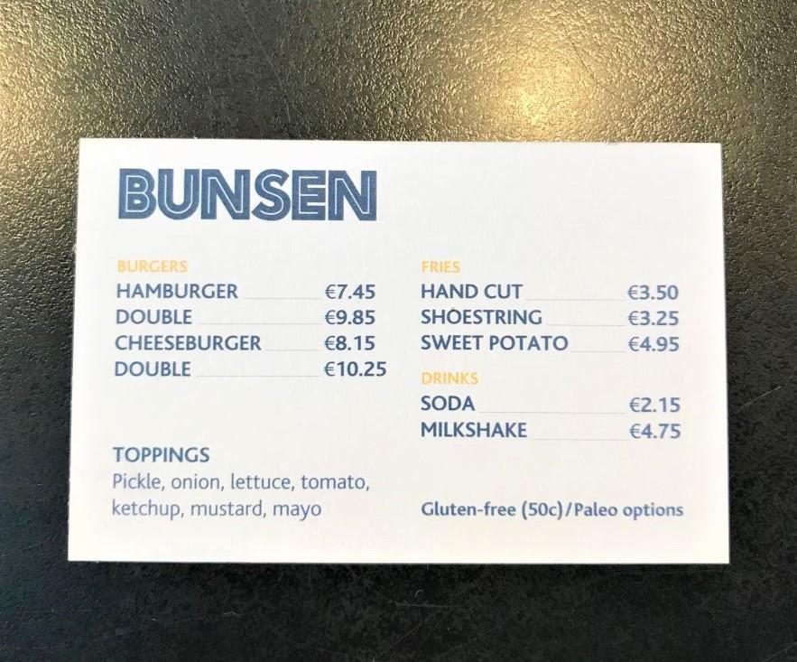 Glutenfrei Dublin Bunsen