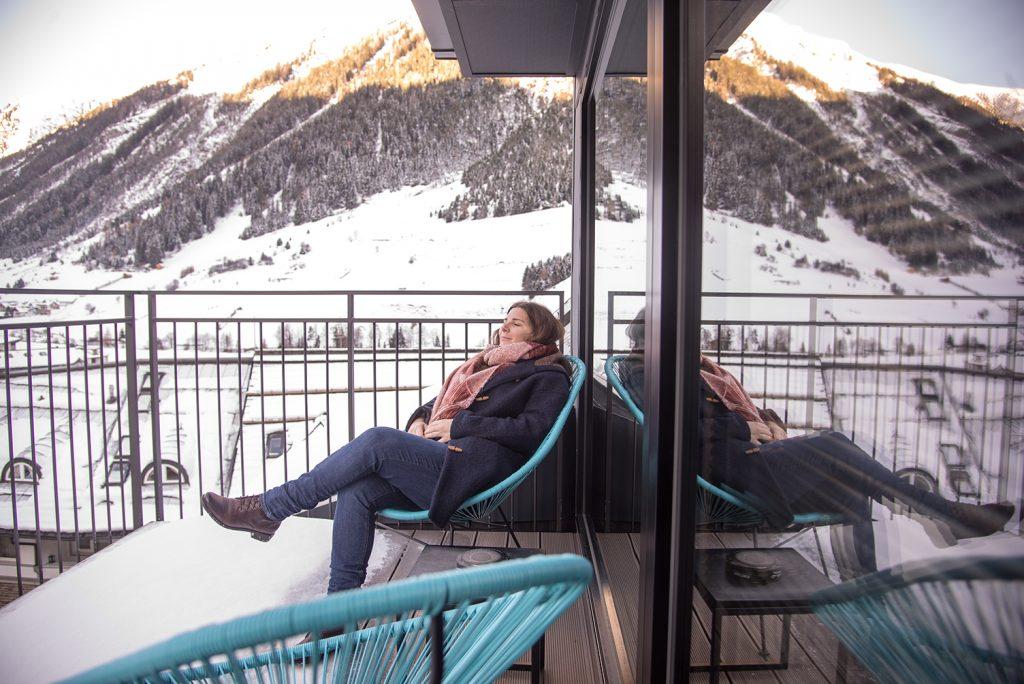 Ischgl Balkon