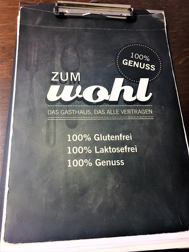 100% glutenfrei im Gasthaus Zum Wohl