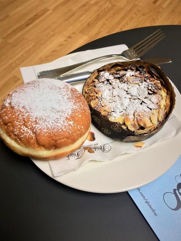 Glutenfreie Krapfen und Kuchen beim Ernährungsseminar