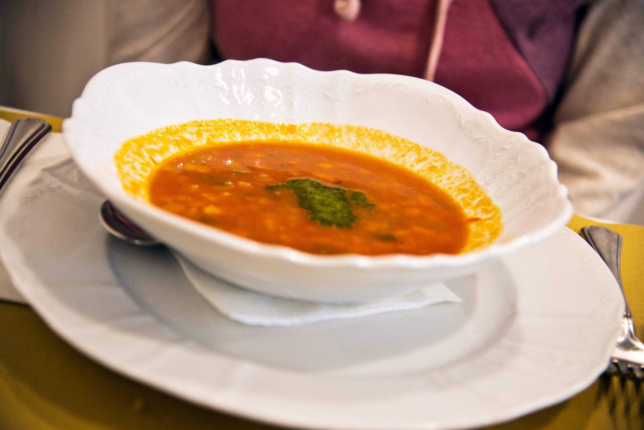 Glutenfreie Suppe im Al Riso