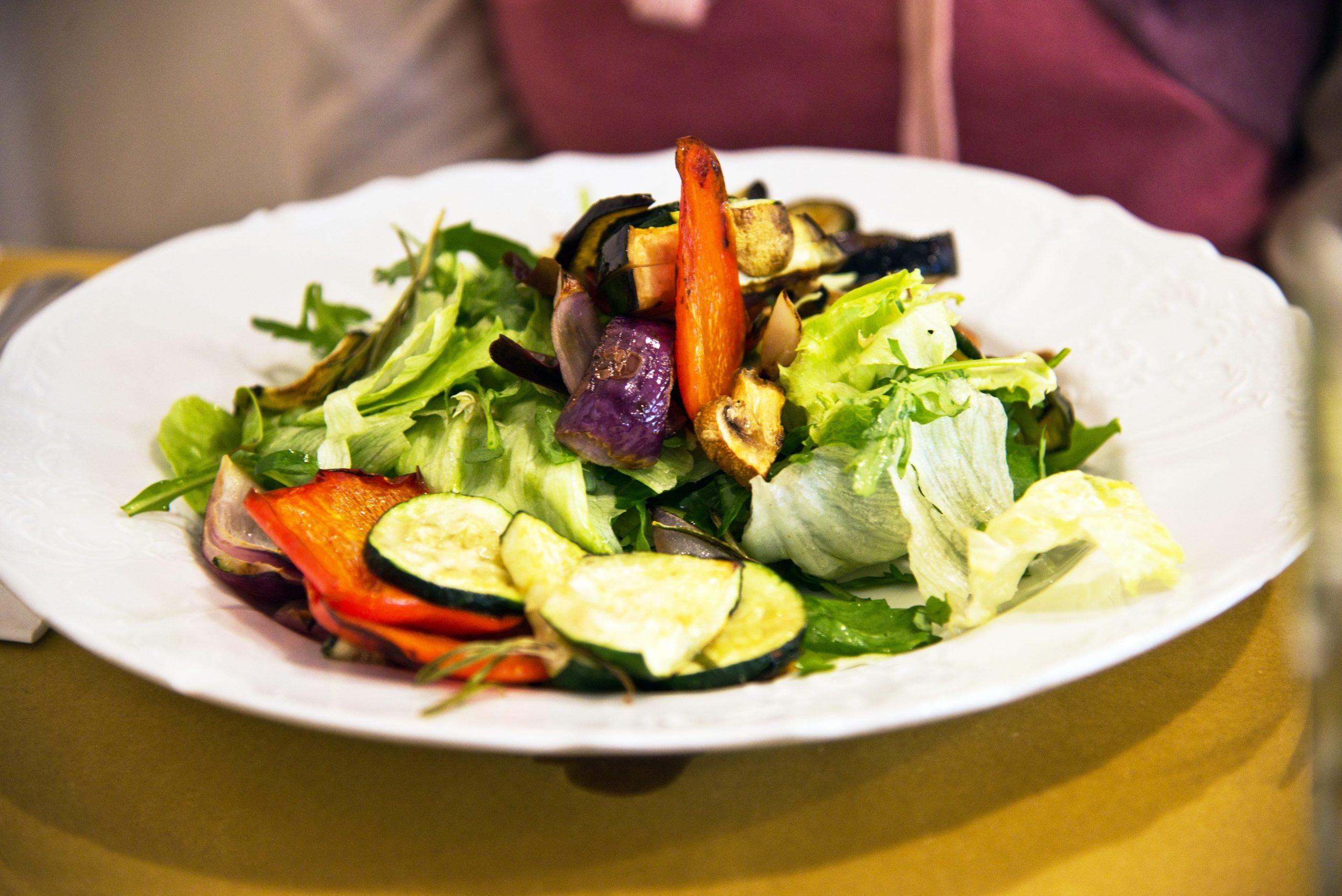 Glutenfreier Salat im Al Riso