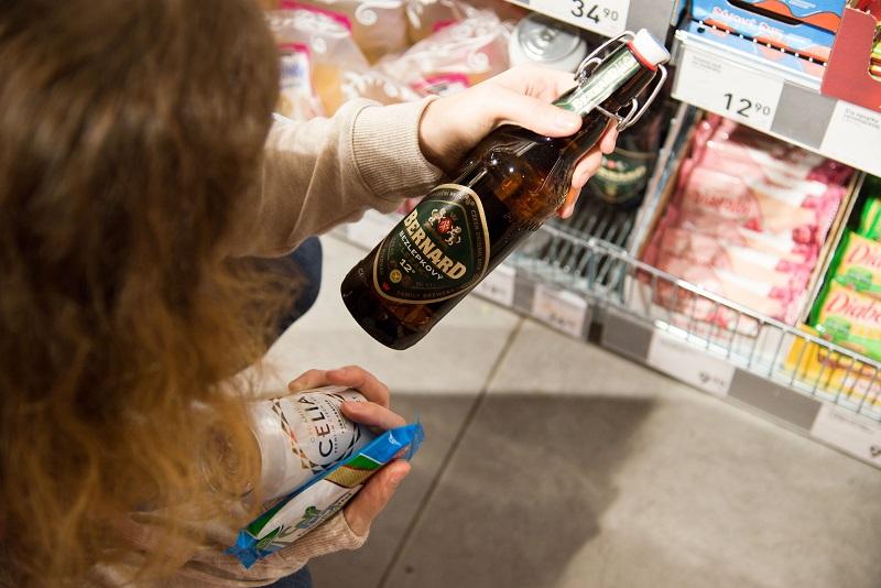 Glutenfreies Bier bei Billa