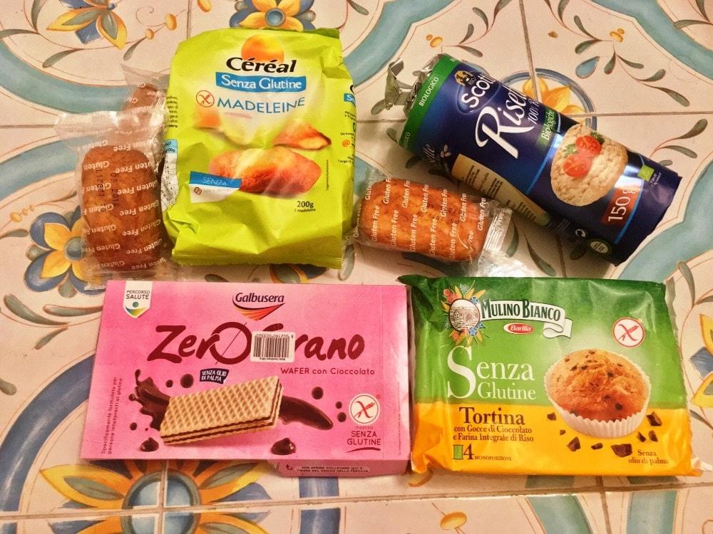 Glutenfreie Lebensmittel in Neapel