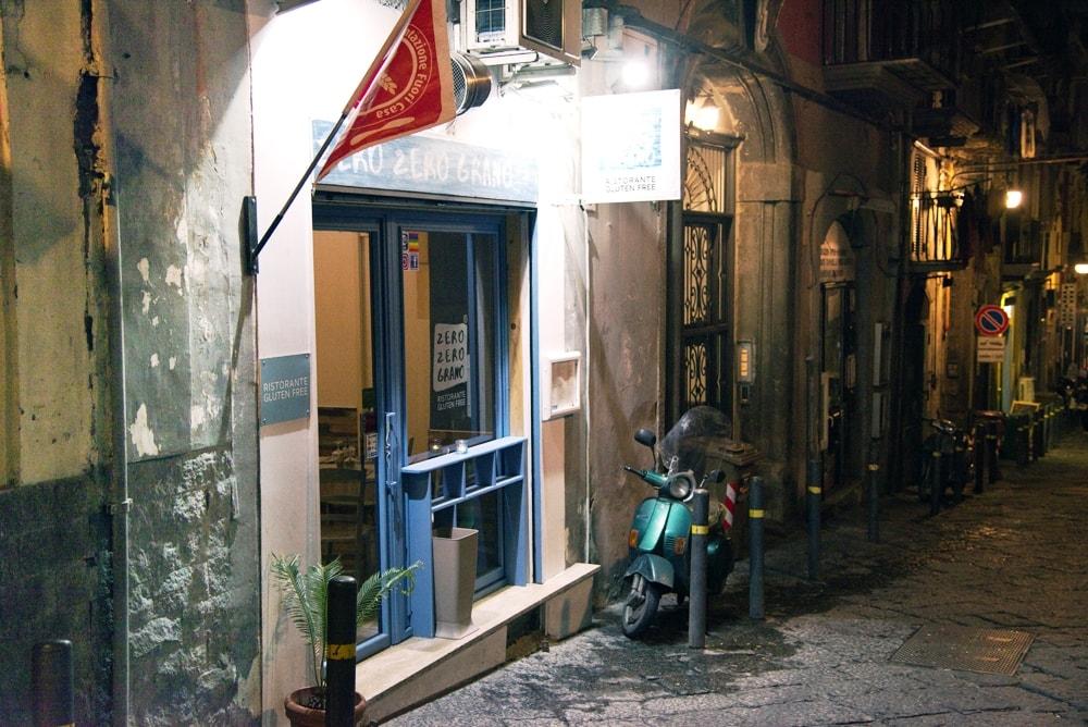 Das Zero Zero Grano in Neapel