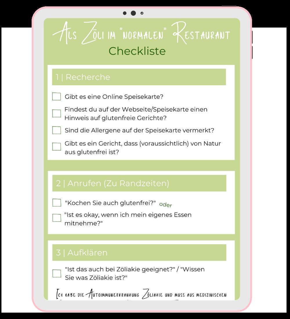 """Als Zöli im """"normalen"""" Restaurant"""