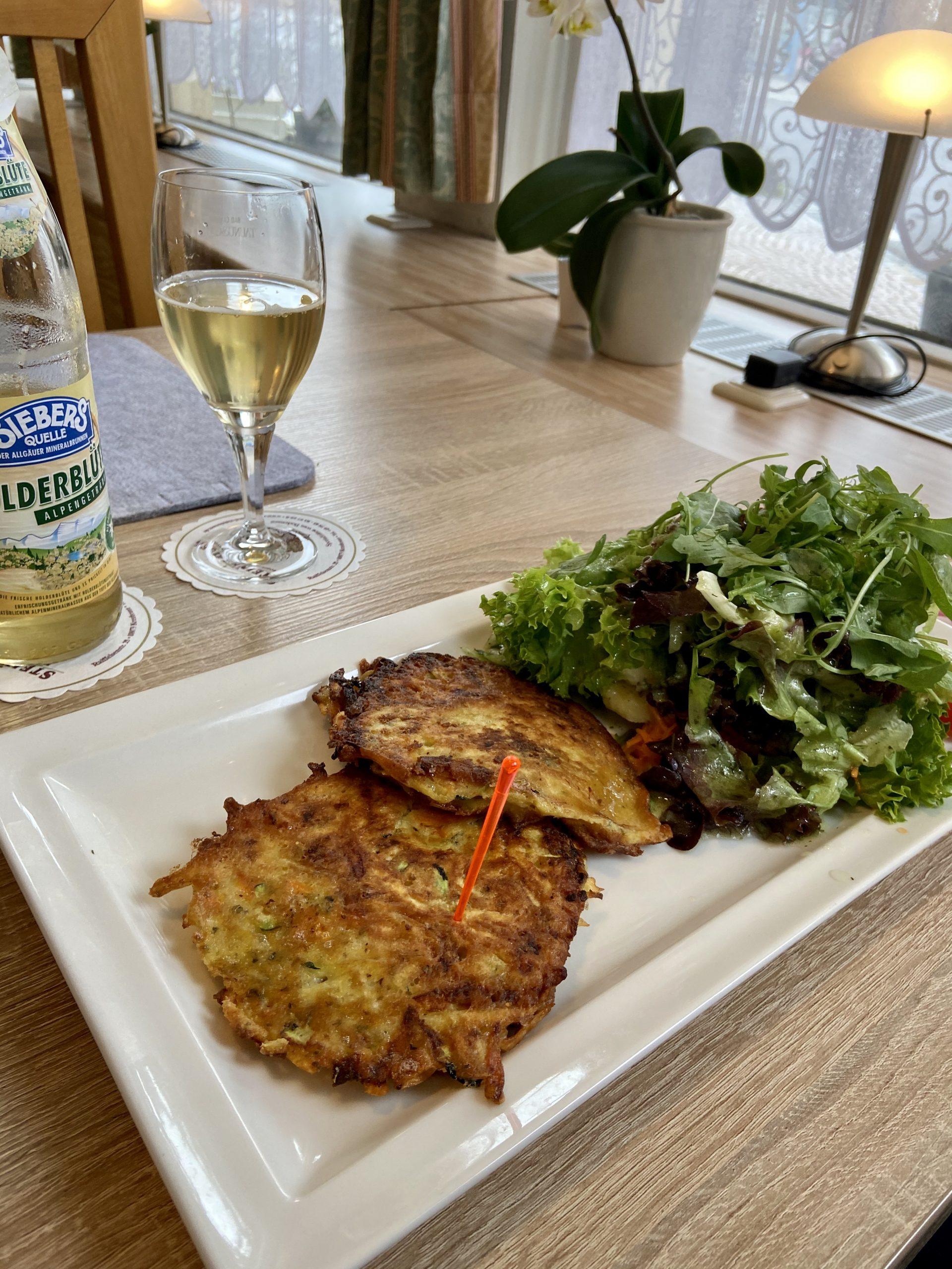 Glutenfreie Kartoffelpuffer im Gasthaus Post