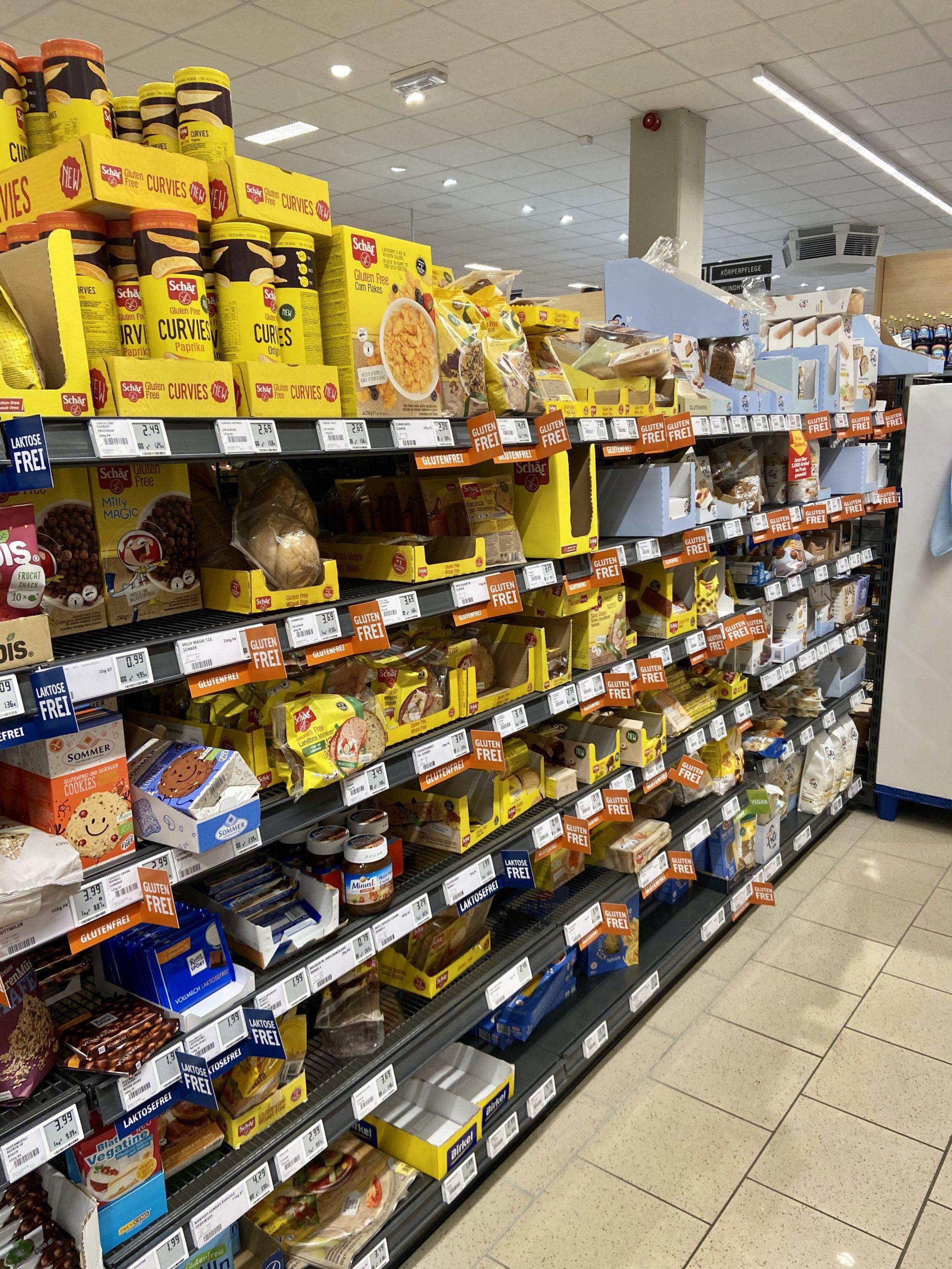 Glutenfrei einkaufen in Scheidegg REWE