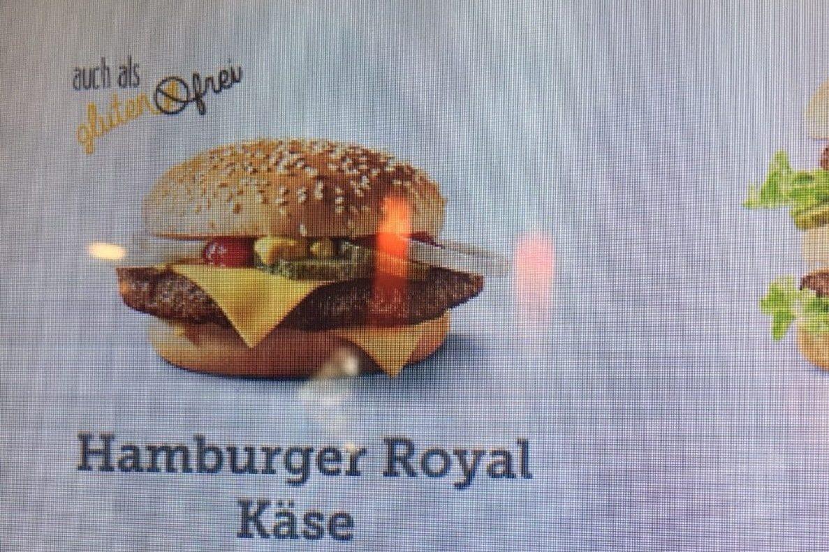 Glutenfreie Burger bei McDonalds Österreich