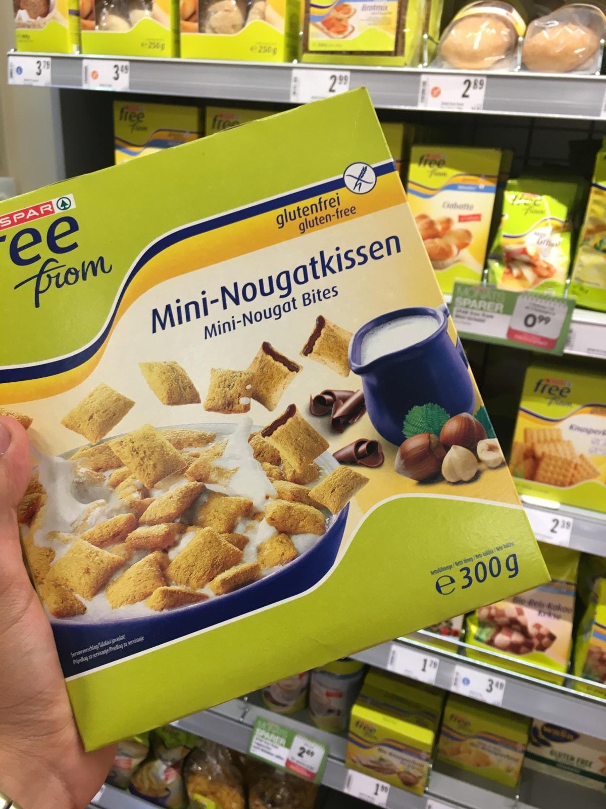Glutenfrei beim Interspar am Hauptbahnhof Wien