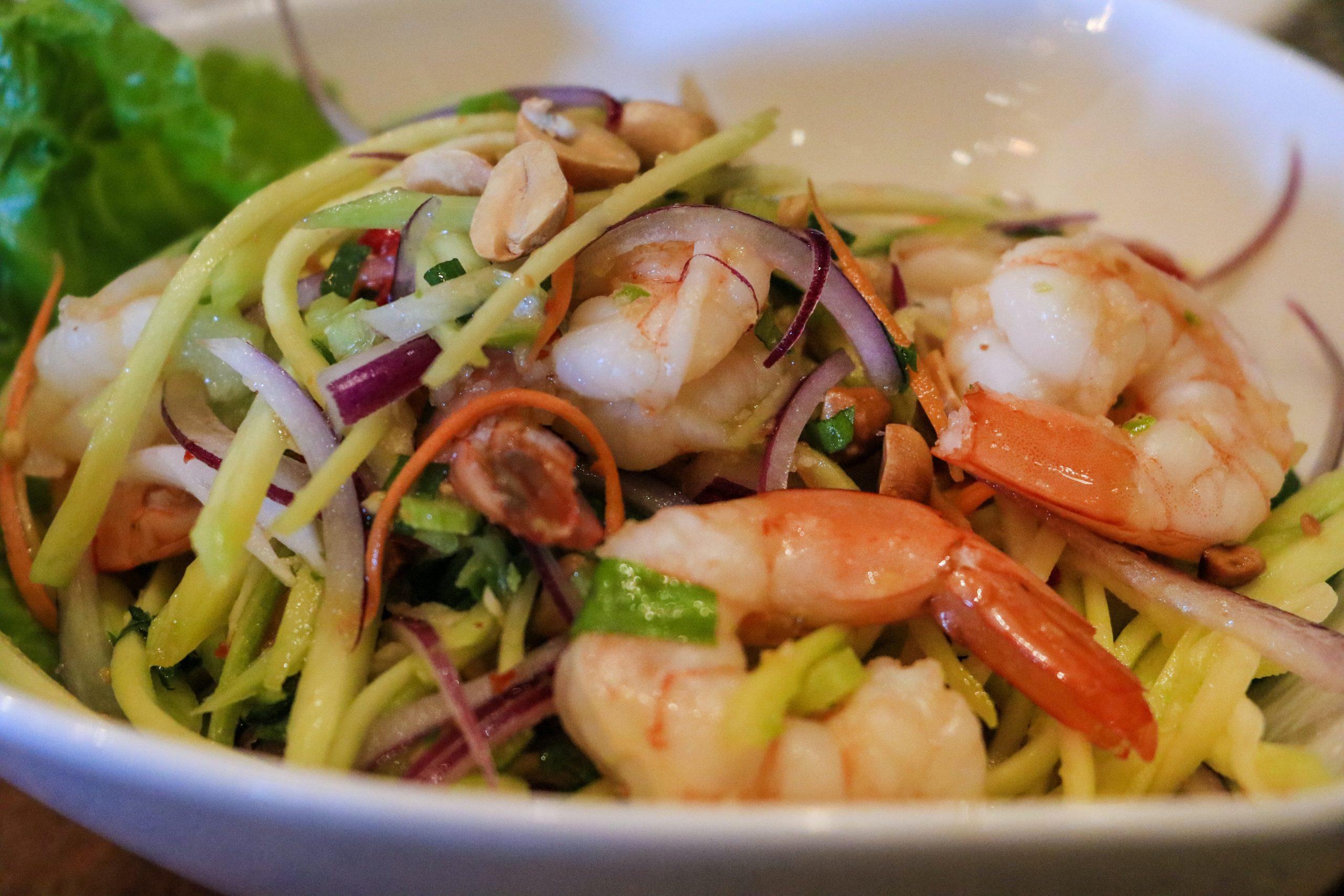 Welche Salate sind in Thailand glutenfrei?