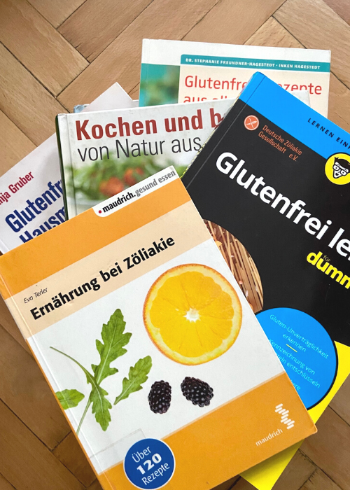 Glutenfreie Koch- und Backbücher, Bücher über Zöliakie & Kinderbücher  – Eine Übersicht