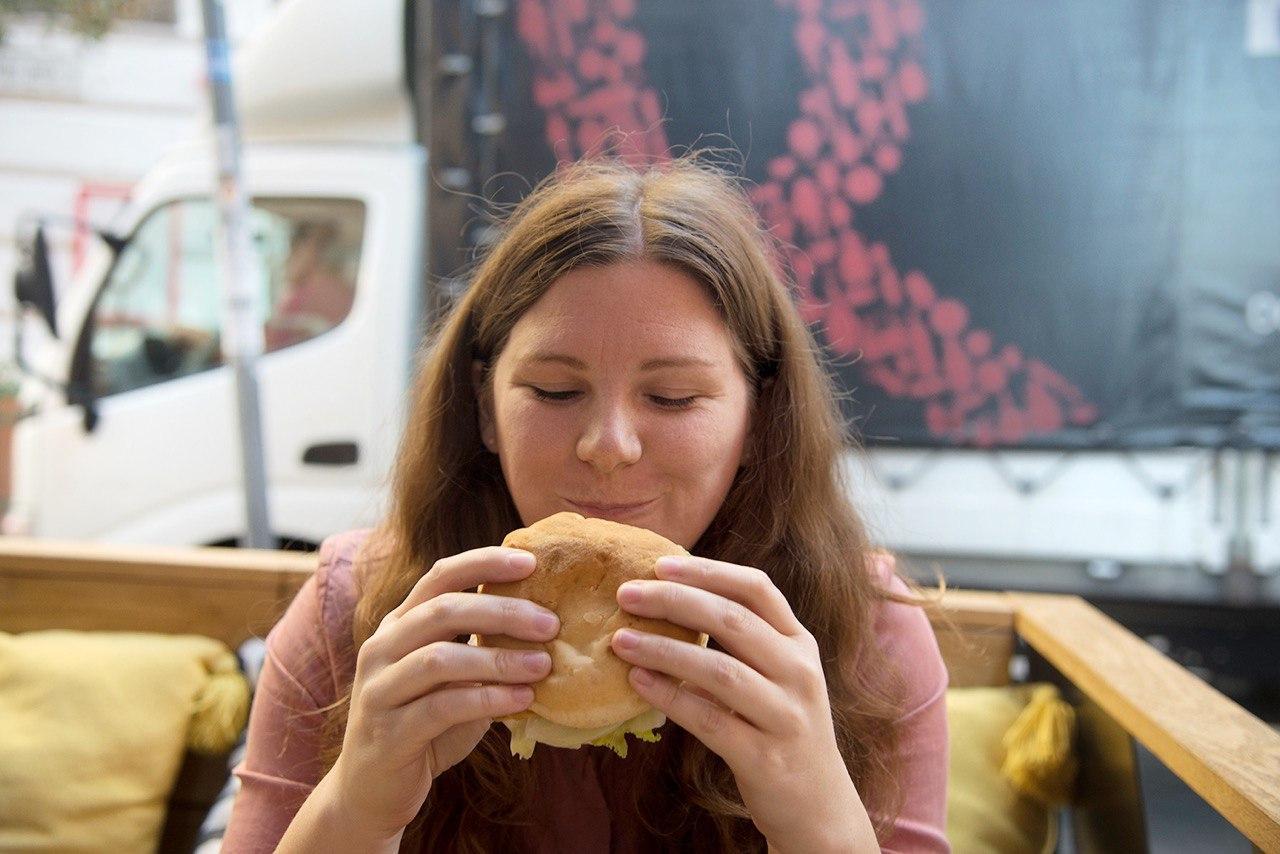 glutenfreier Burger im Kata