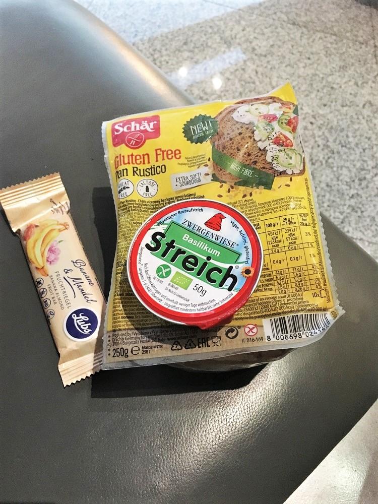Snacks für unterwegs haben oft den ersten Hunger gestillt