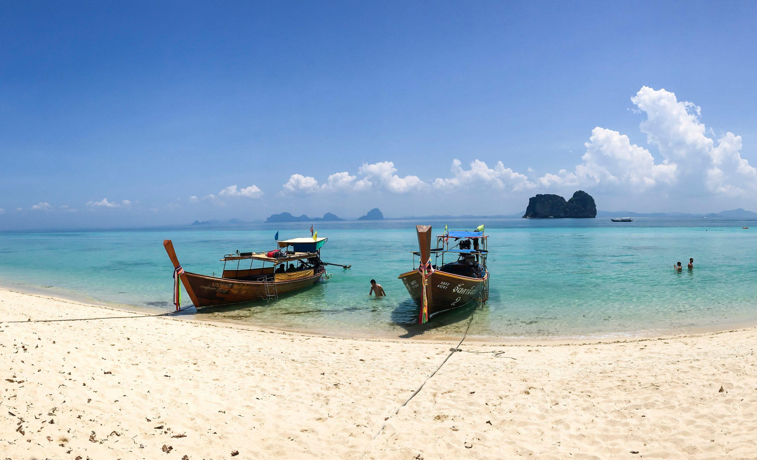 Badeurlaub steht am Plan. Ich genieße die Ruhe in Koh Lanta.