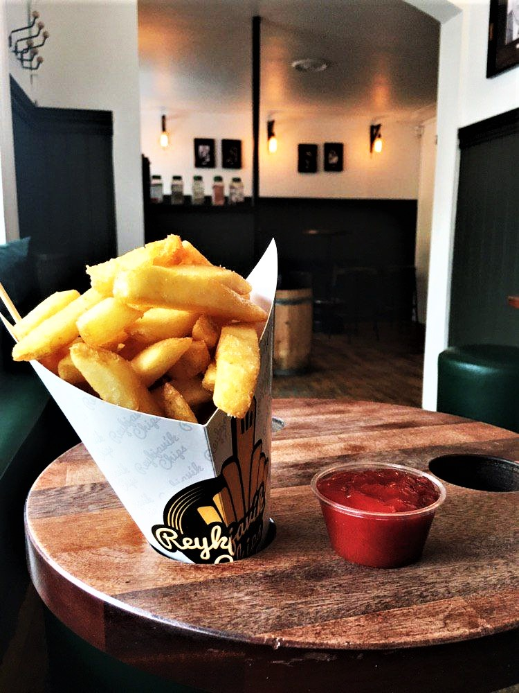 Reykjavik Chips: Größe Medium.