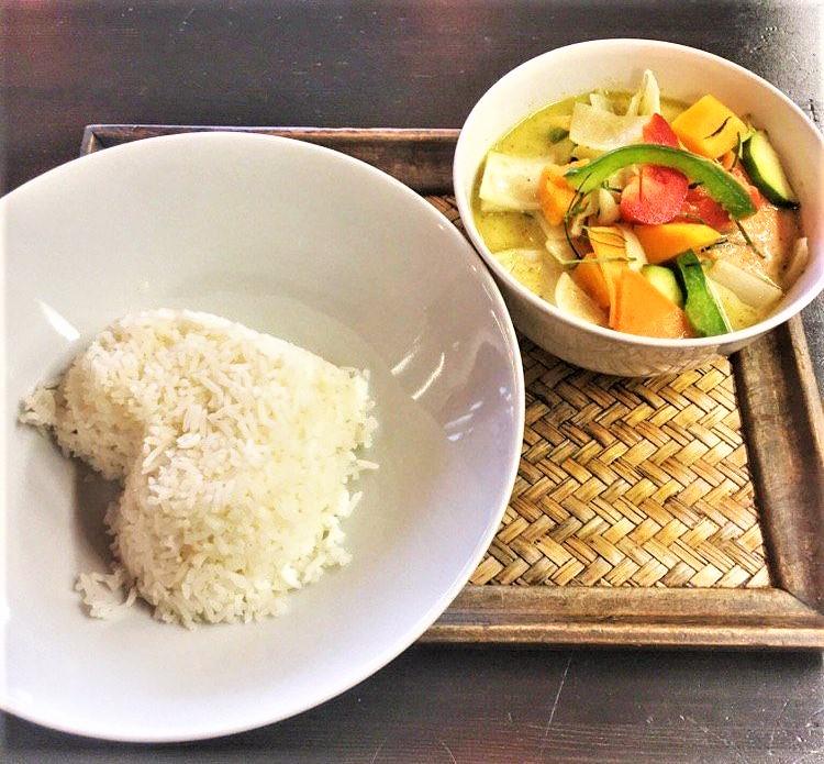 Mein Curry im Mai Thai Bistro.