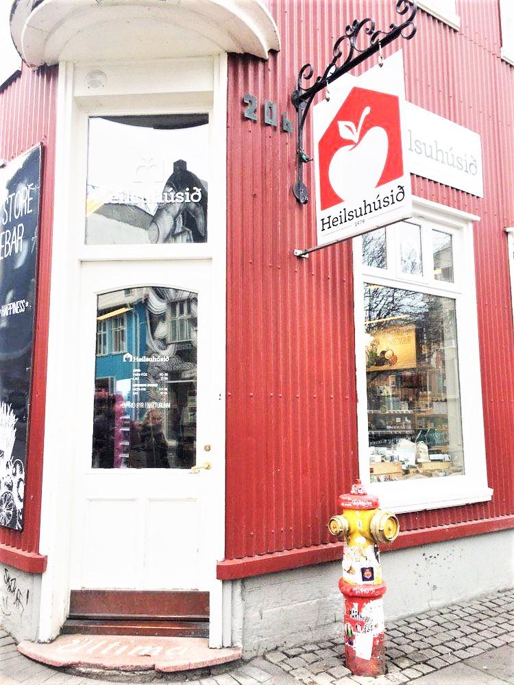 Im Heilsuhúsið Reformhaus ist die glutenfreie Auswahl in Reykjavik am größten.