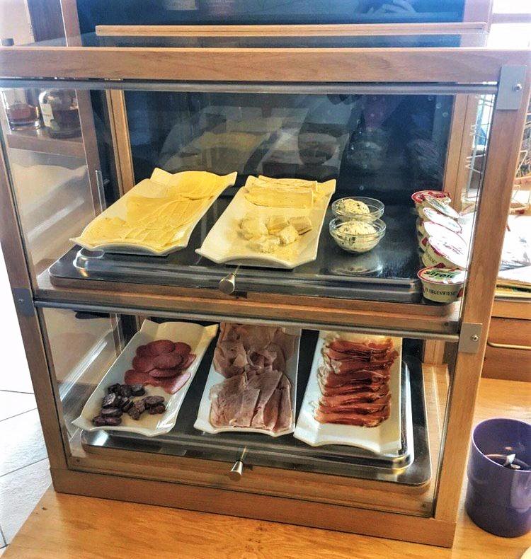 Glutenfreies Frühstück im Schlaneiderhof