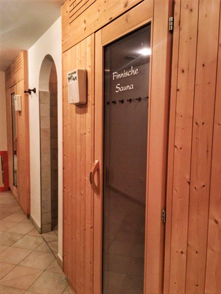 Die Sauna im Schlaneiderhof