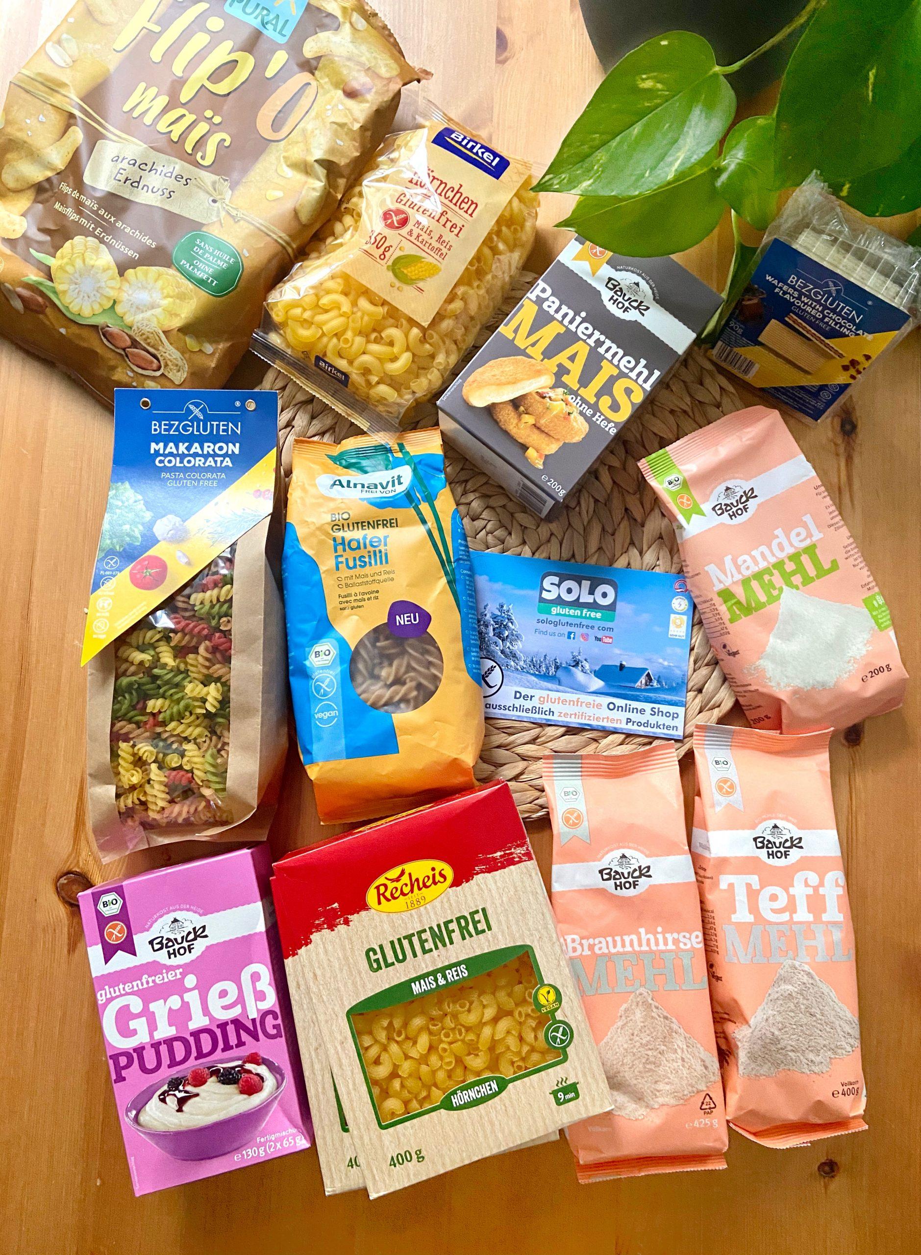 Glutenfreie Produkte von Solo Gluten Free