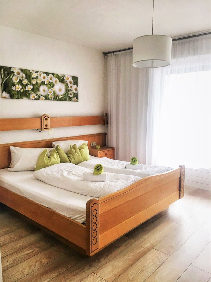 Das kleine Appartement ist gemütlich und funktional.