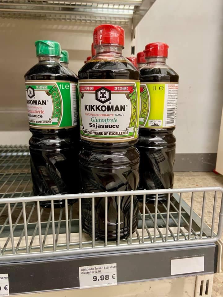 glutenfrei im Nakwon Supermarkt