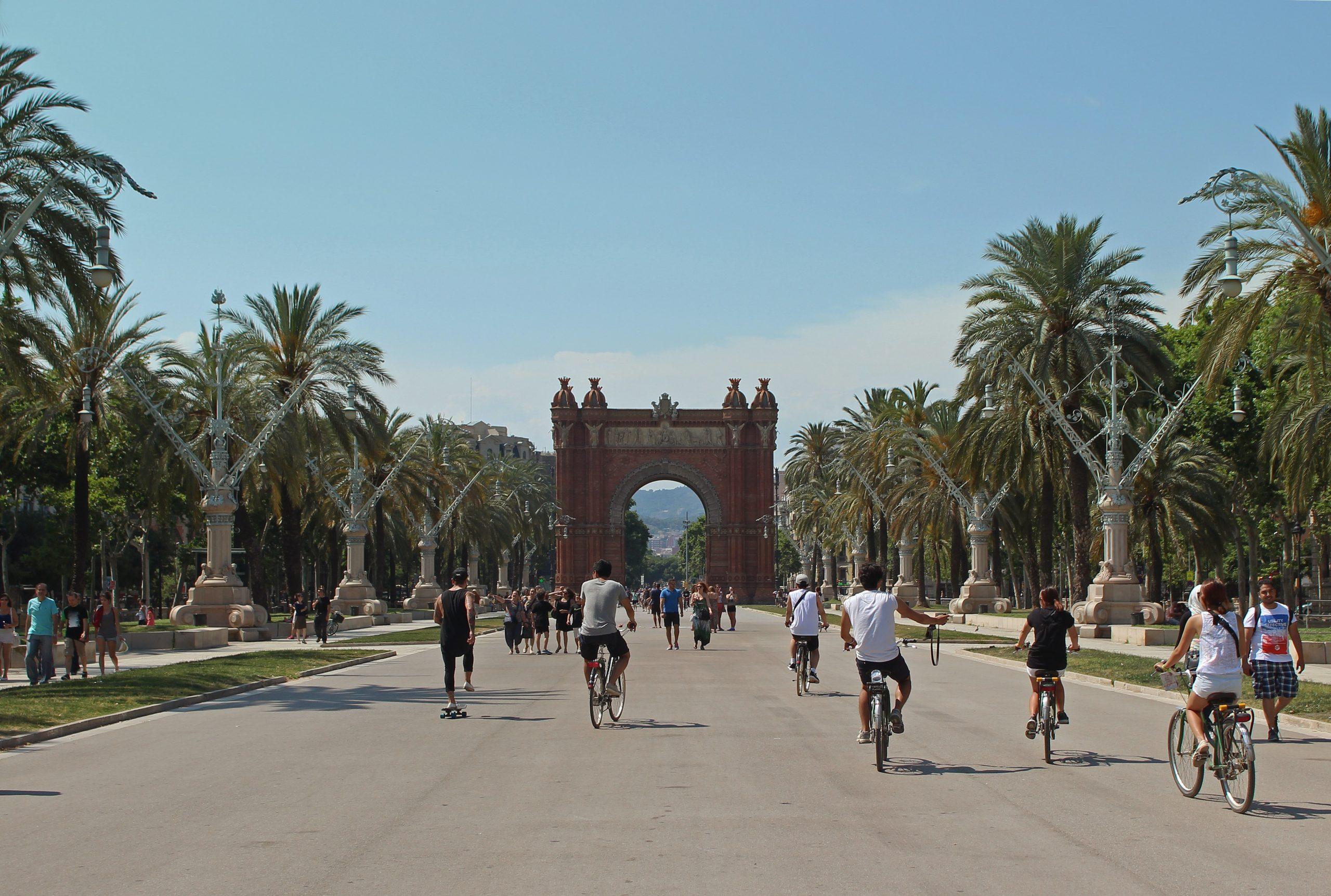 Ein Spaziergang in Barcelona