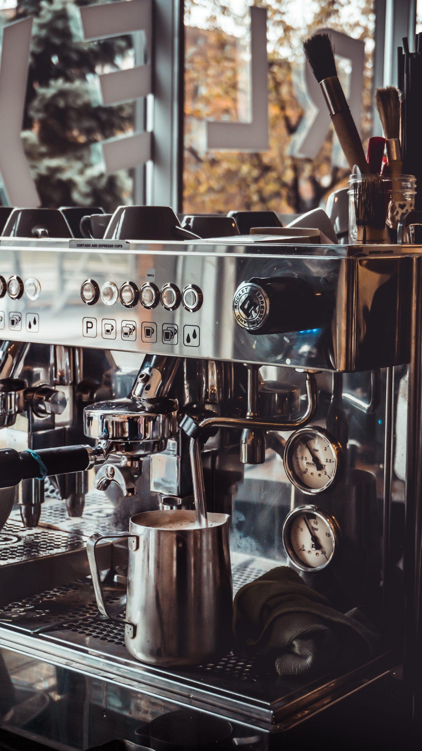 Kontamination im Kaffeehaus