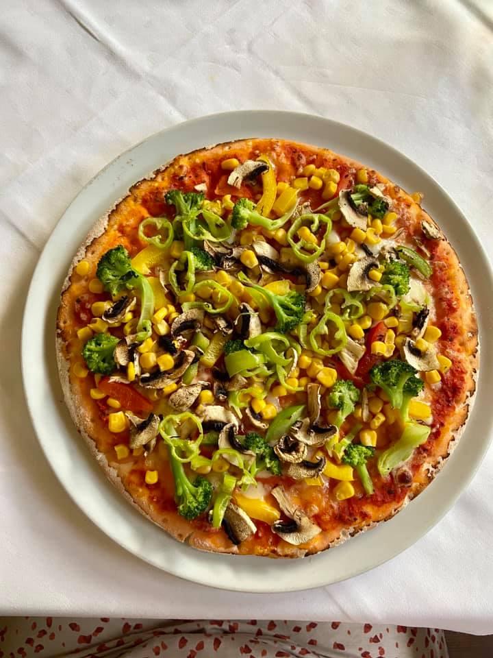 Glutenfreie Pizza in der Pizzeria Il Giardino in Wien