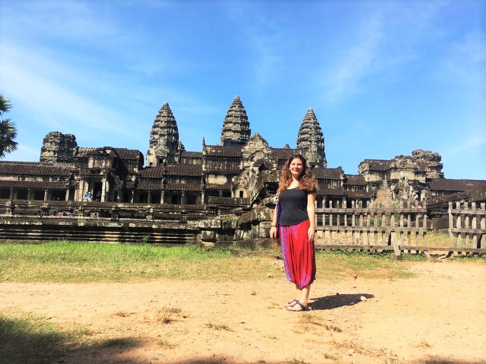 Jenni in Kambodscha