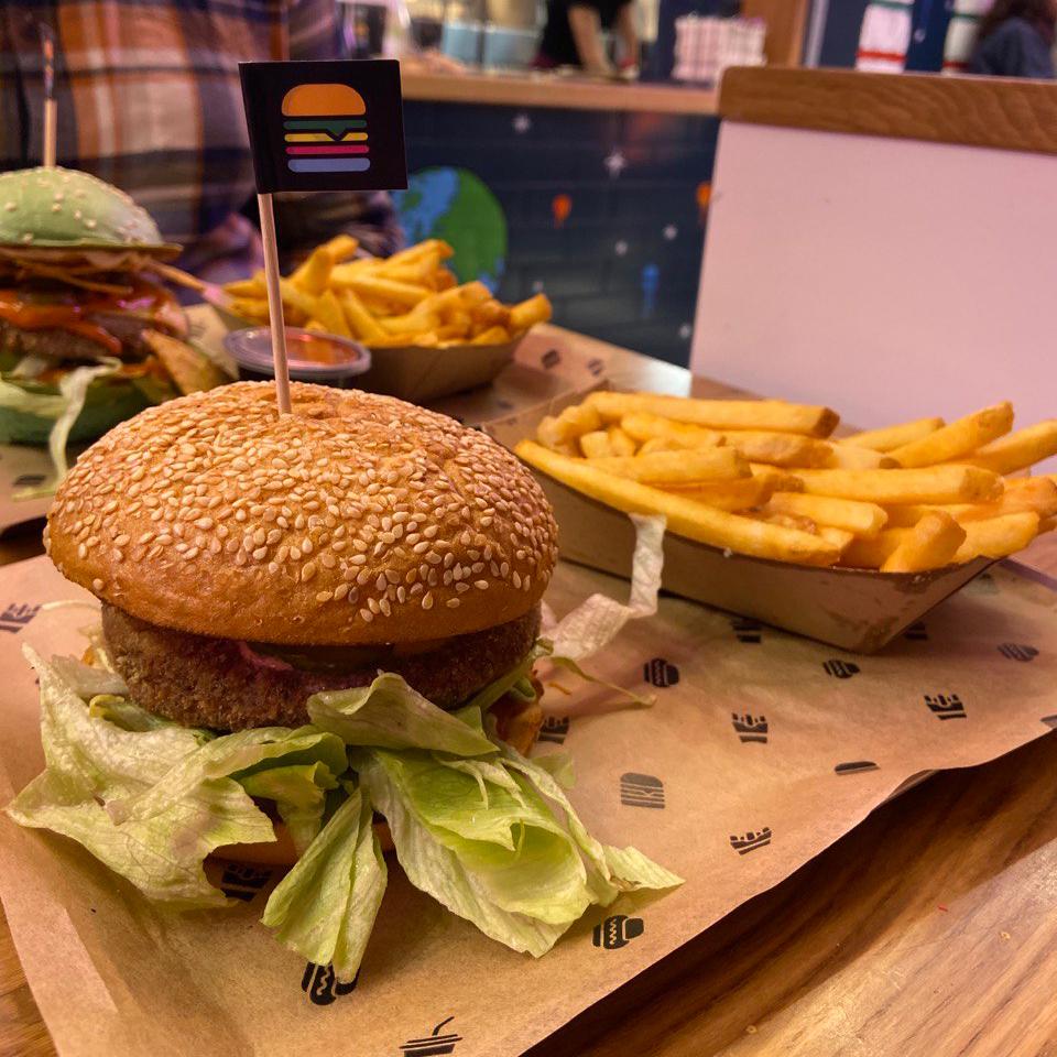 Space Burger Wien - glutenfreier und veganer Burger