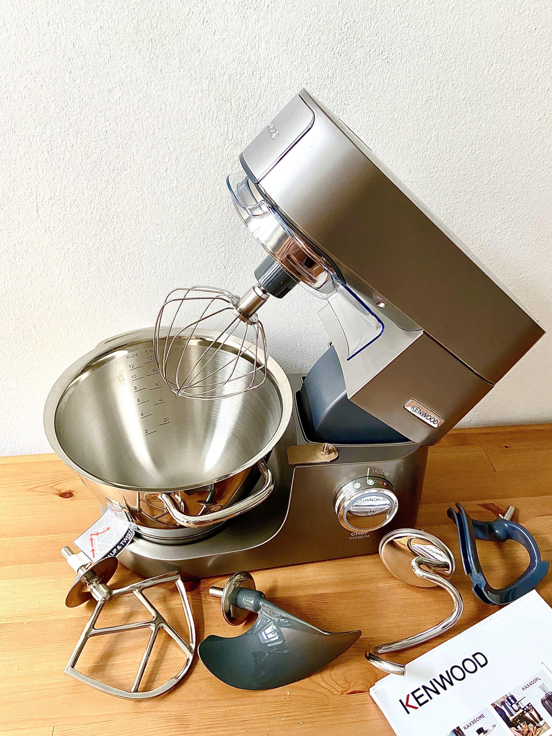 Meine glutenfreie Küchenmaschine von Kenwood
