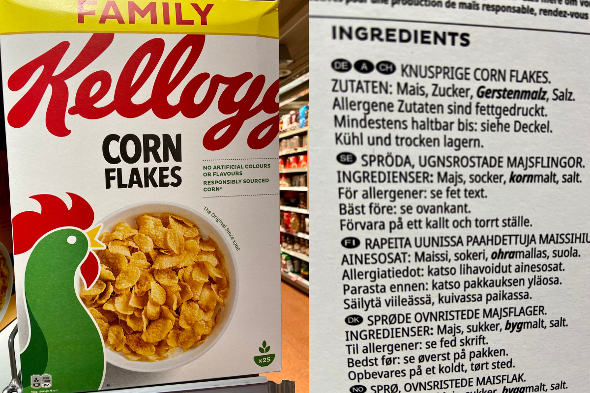 Cornflakes Kellogs