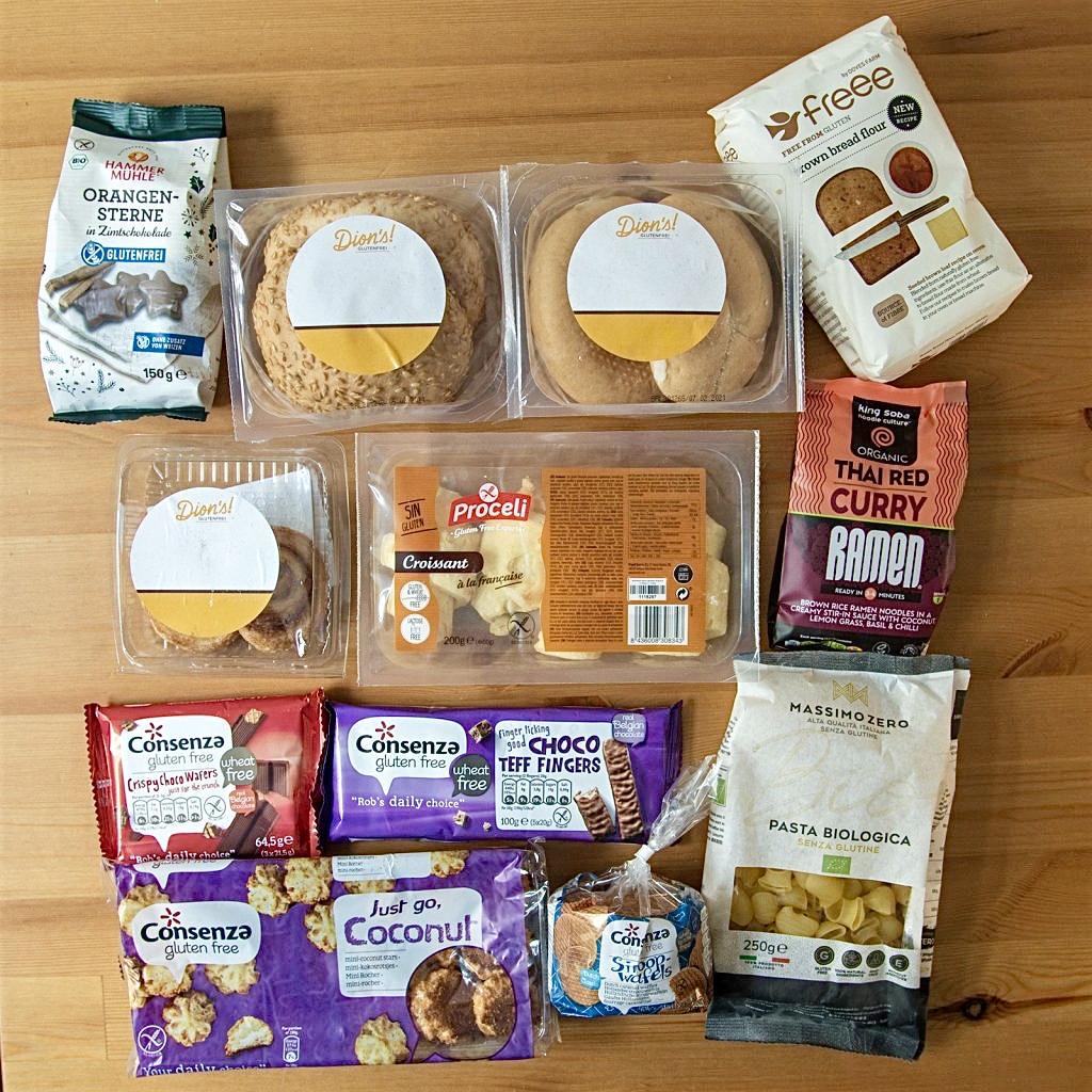 Übersicht: Glutenfreie Online Shops