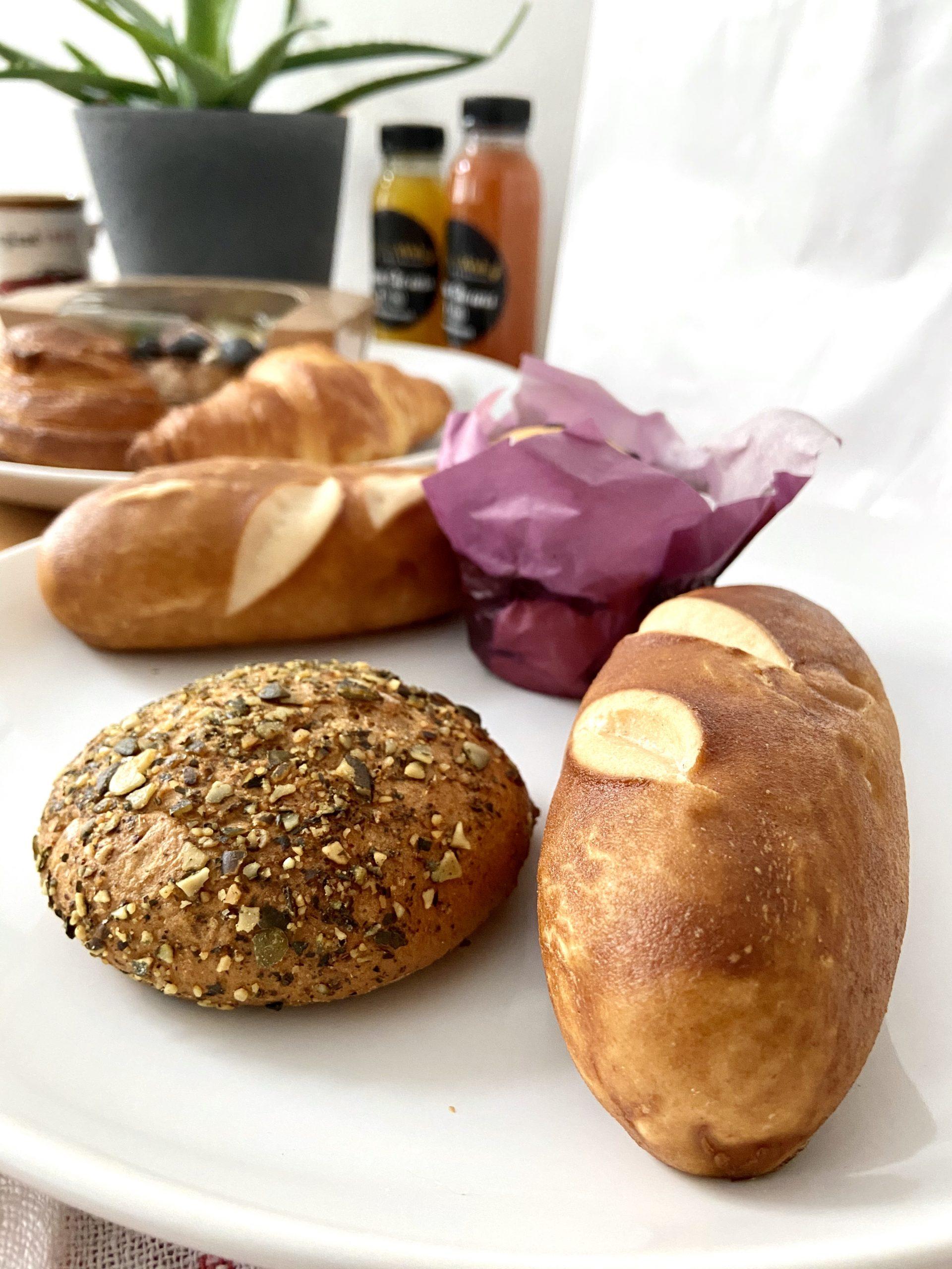 Glutenfreies Gebäck beim Lieferservice in Wien