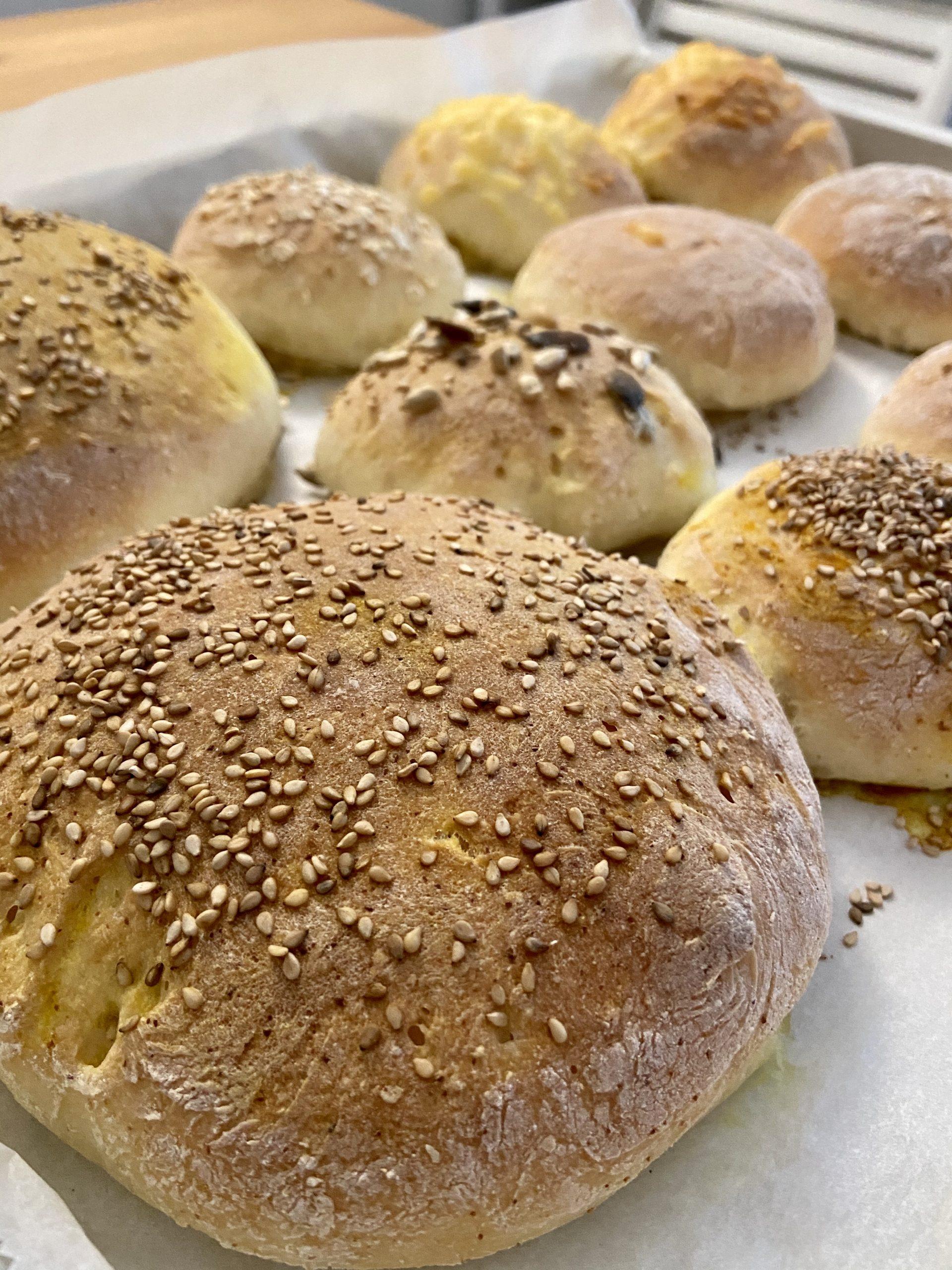 Glutenfreie Brötchen mit der neuen Küchenmaschine