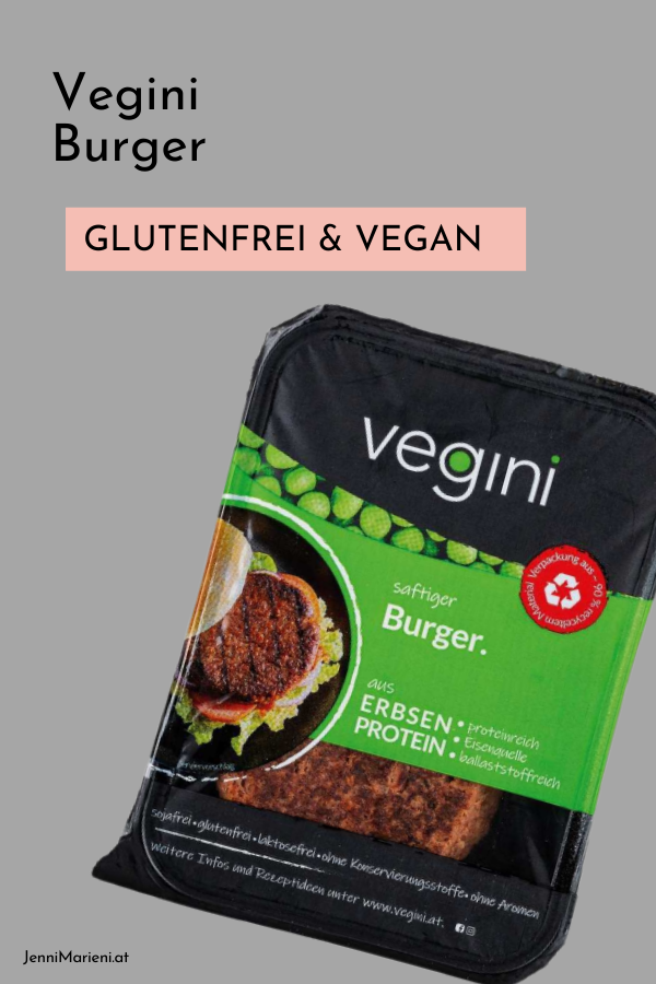 Vegini Burger - glutenfrei und vegan