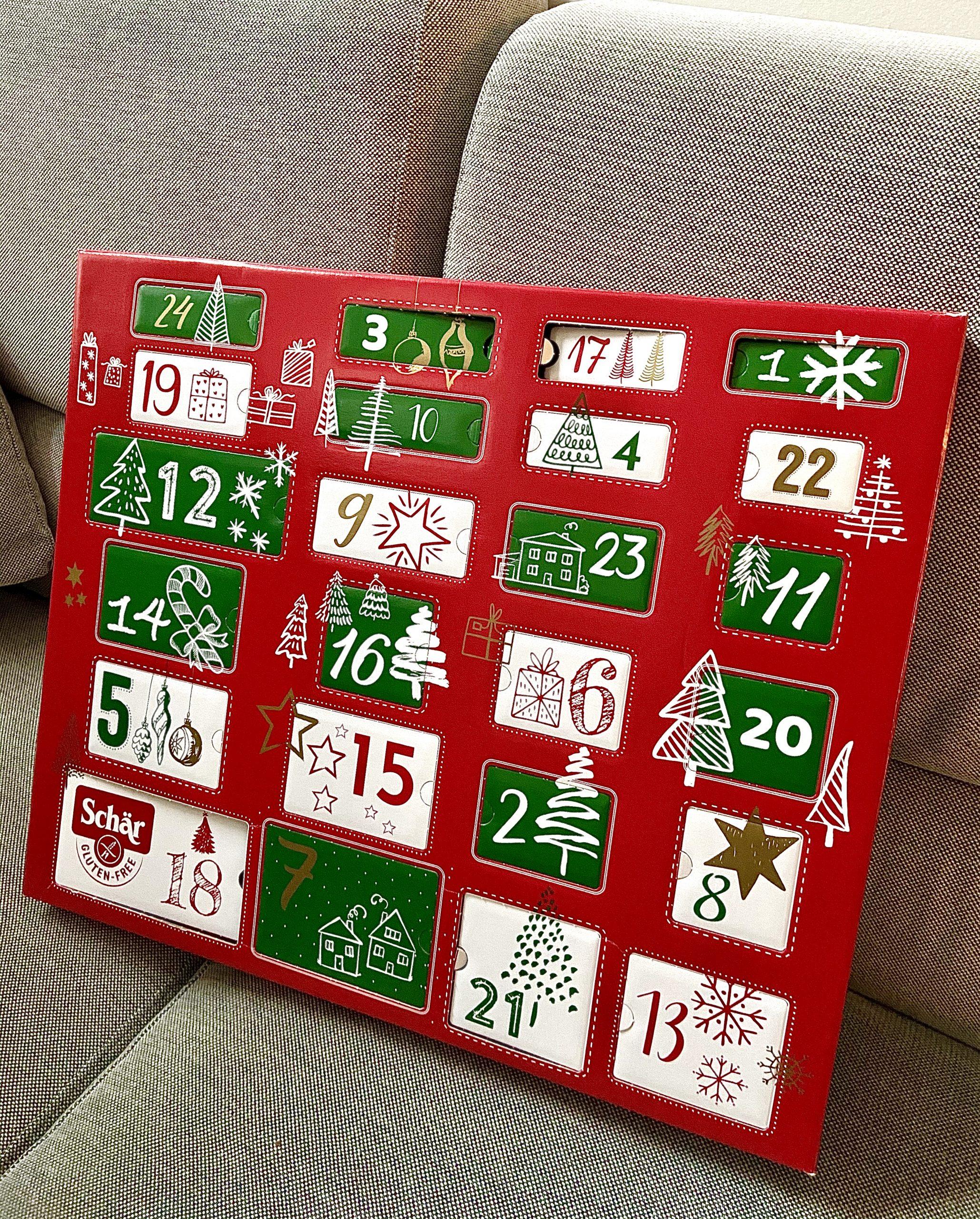 Der glutenfreie Adventkalender von Schär
