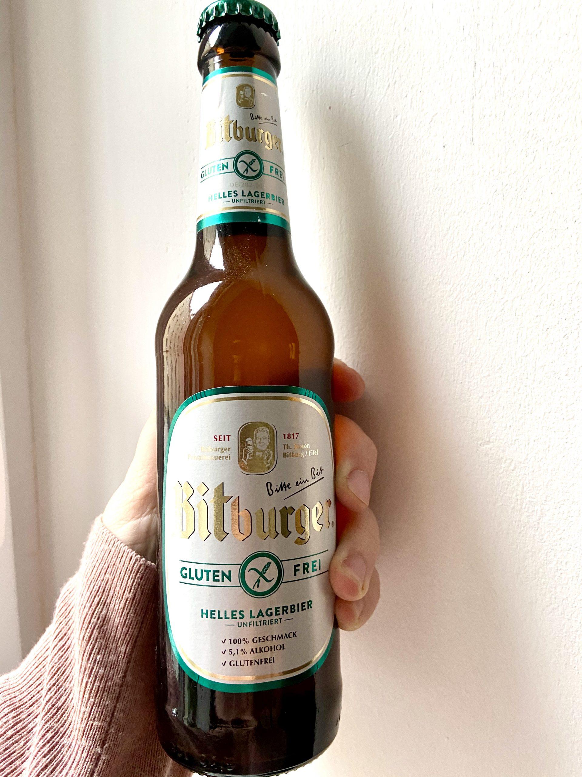 Das glutenfreie Bier von Bitburger
