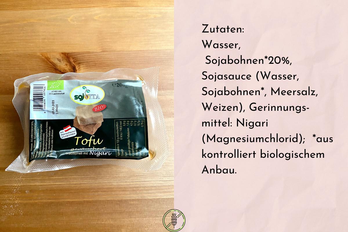 Tofu geräuchert von Sojvita