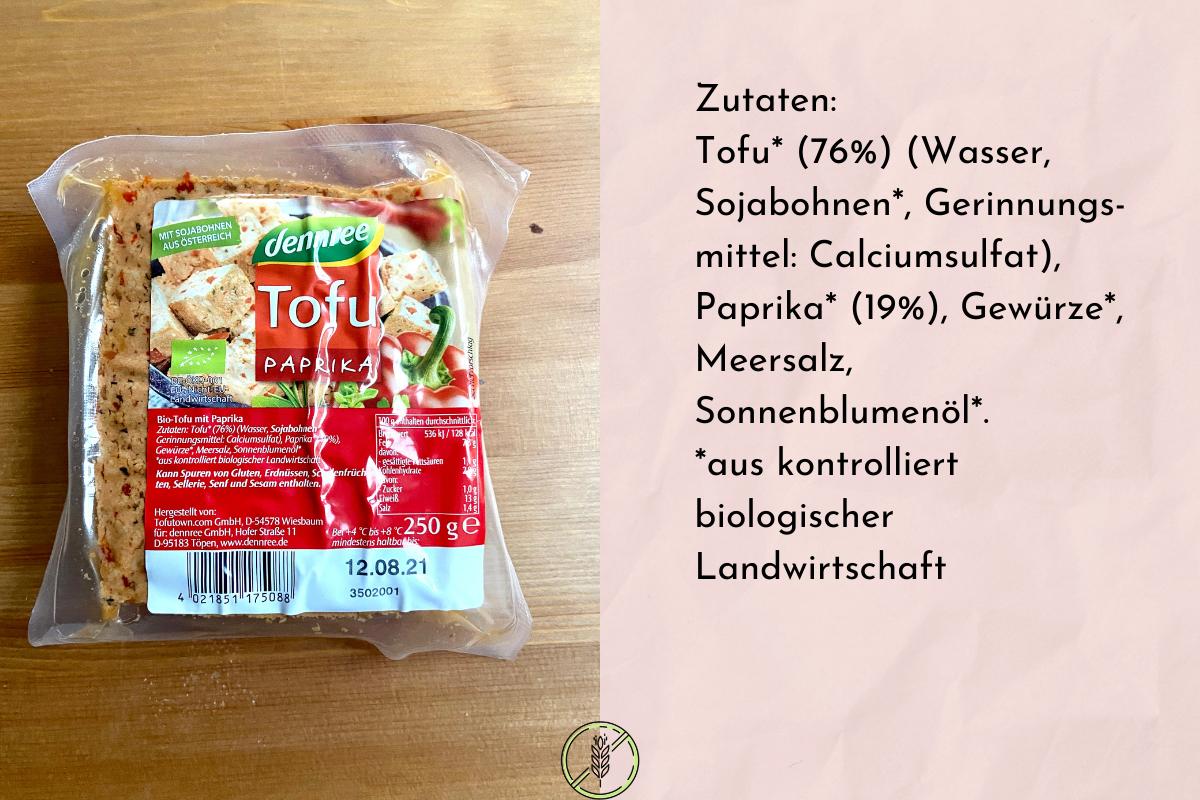 Tofu Paprika von Denree