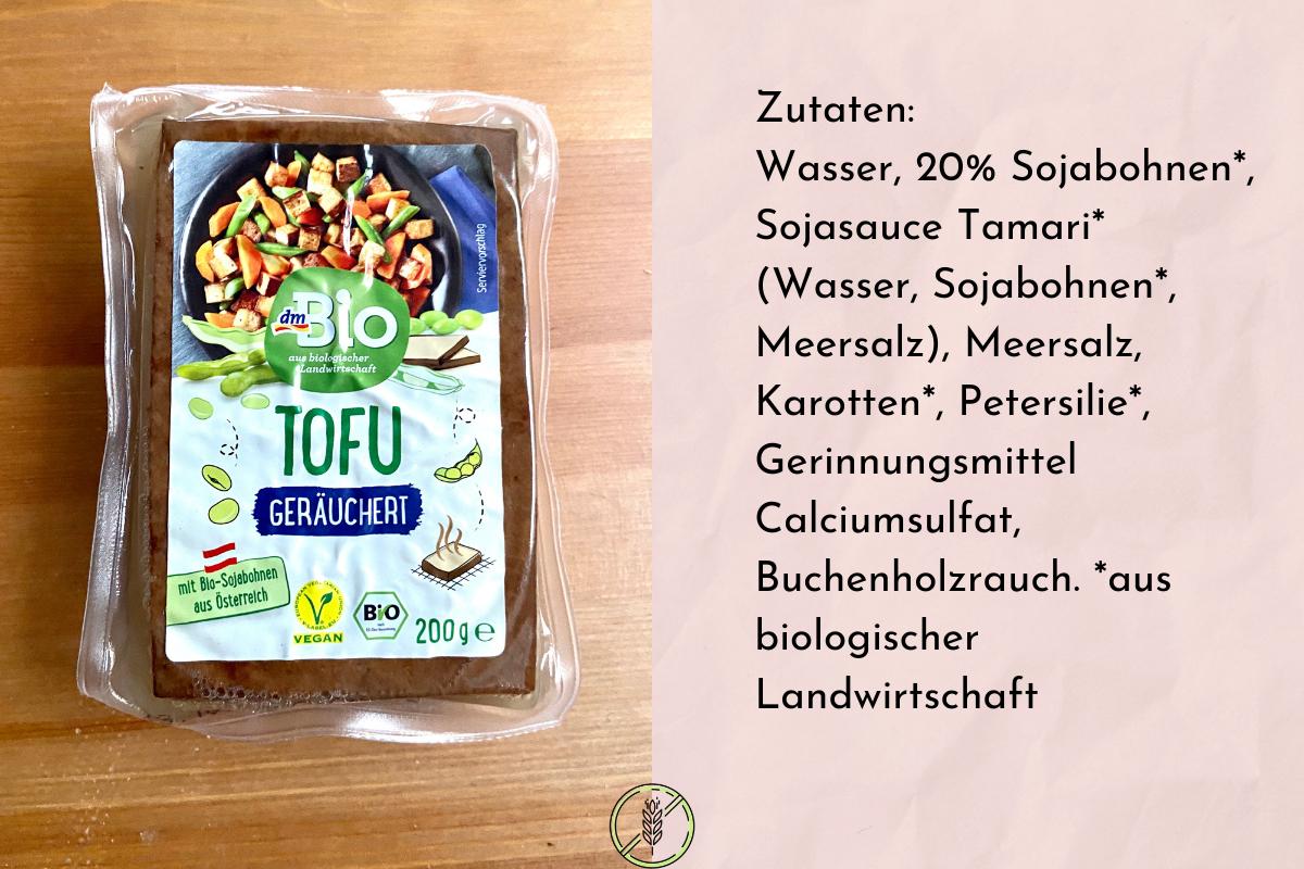 Tofu geräuchert von DM Bio