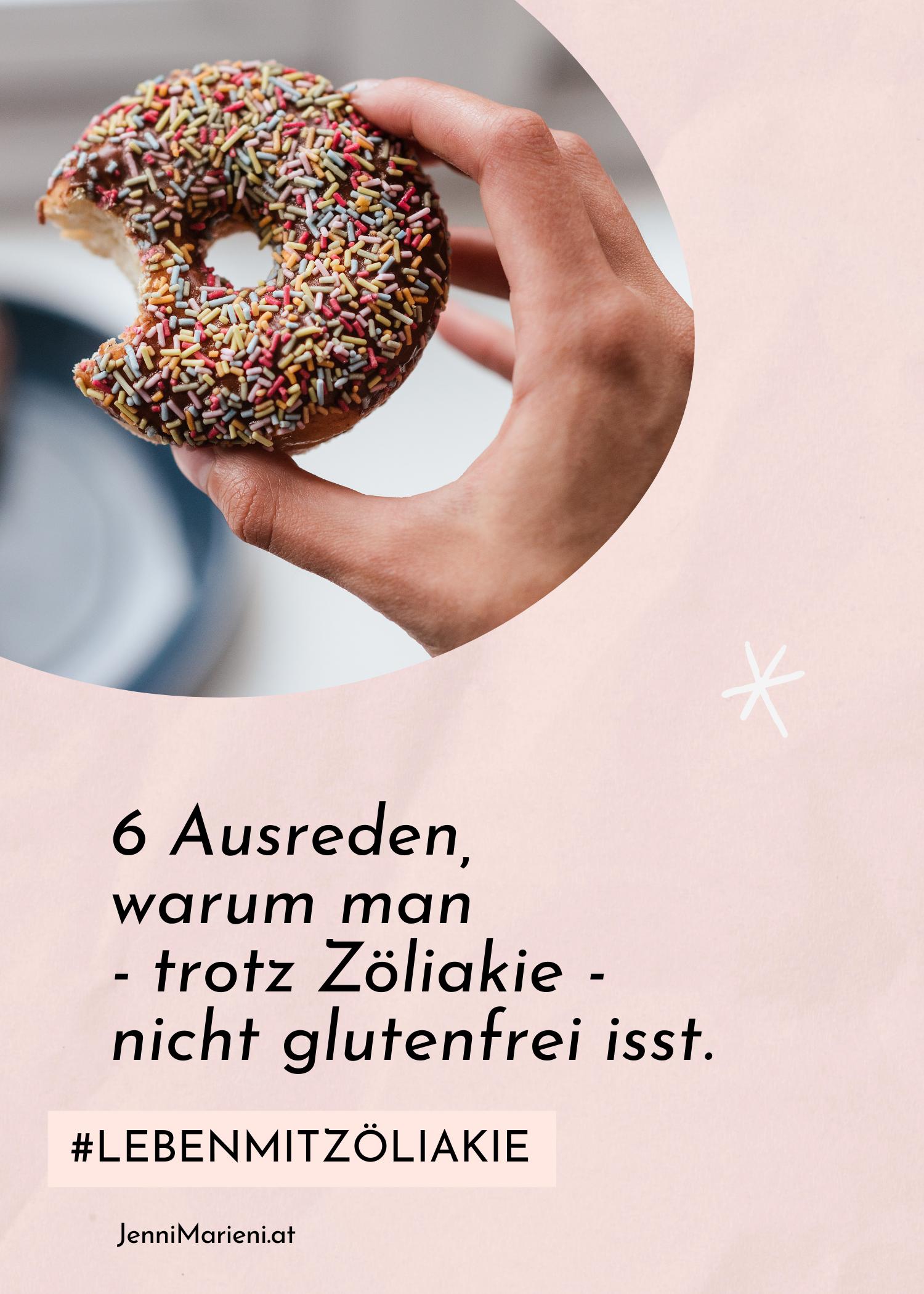 6 Ausreden, warum man – trotz Zöliakie – nicht glutenfrei isst und warum man sich damit nur selbst belügt und schadet.
