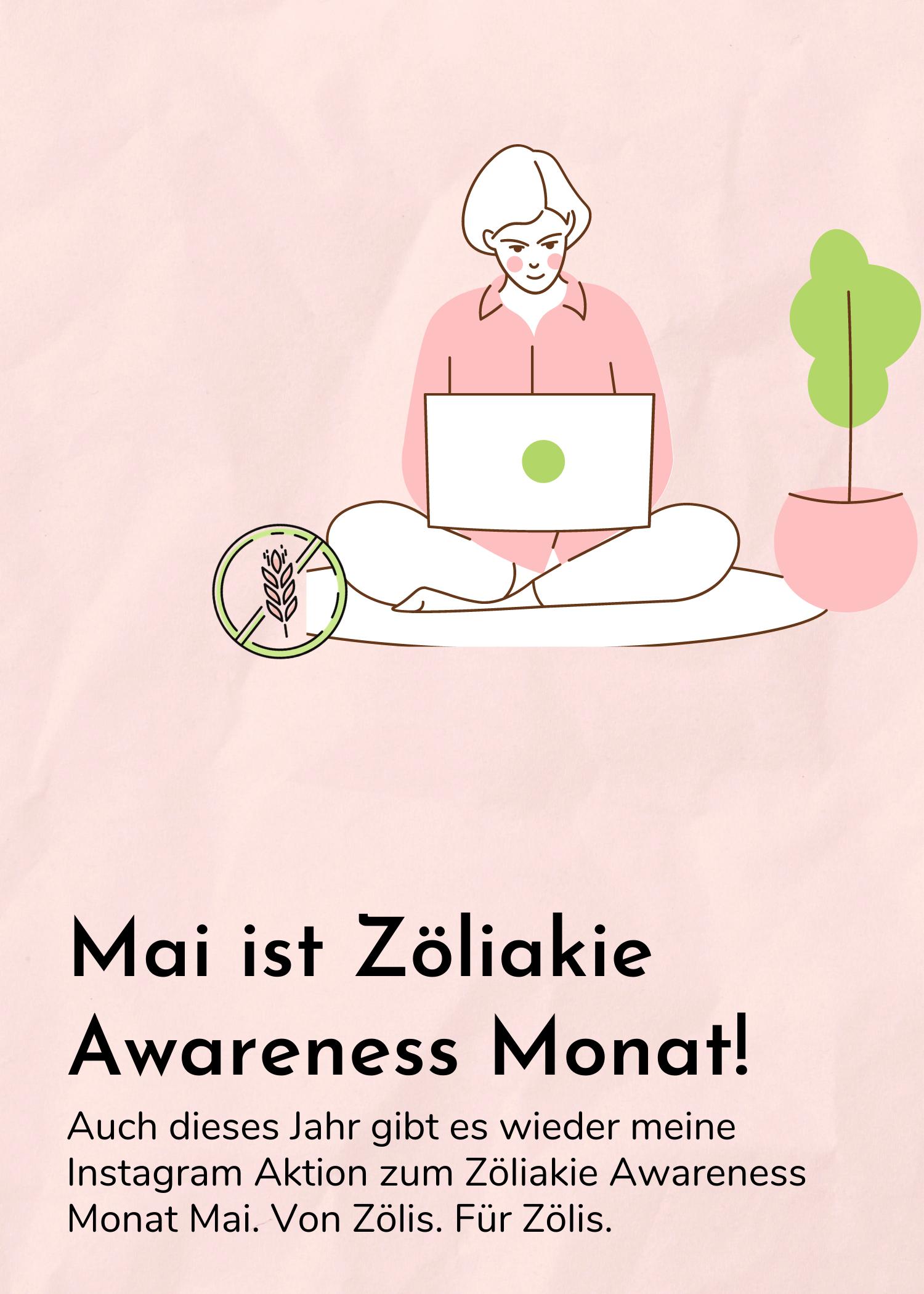 Der Zöliakie Awareness Monat Mai – Die Instagram Mitmach-Aktion geht in die zweite Runde – 2021