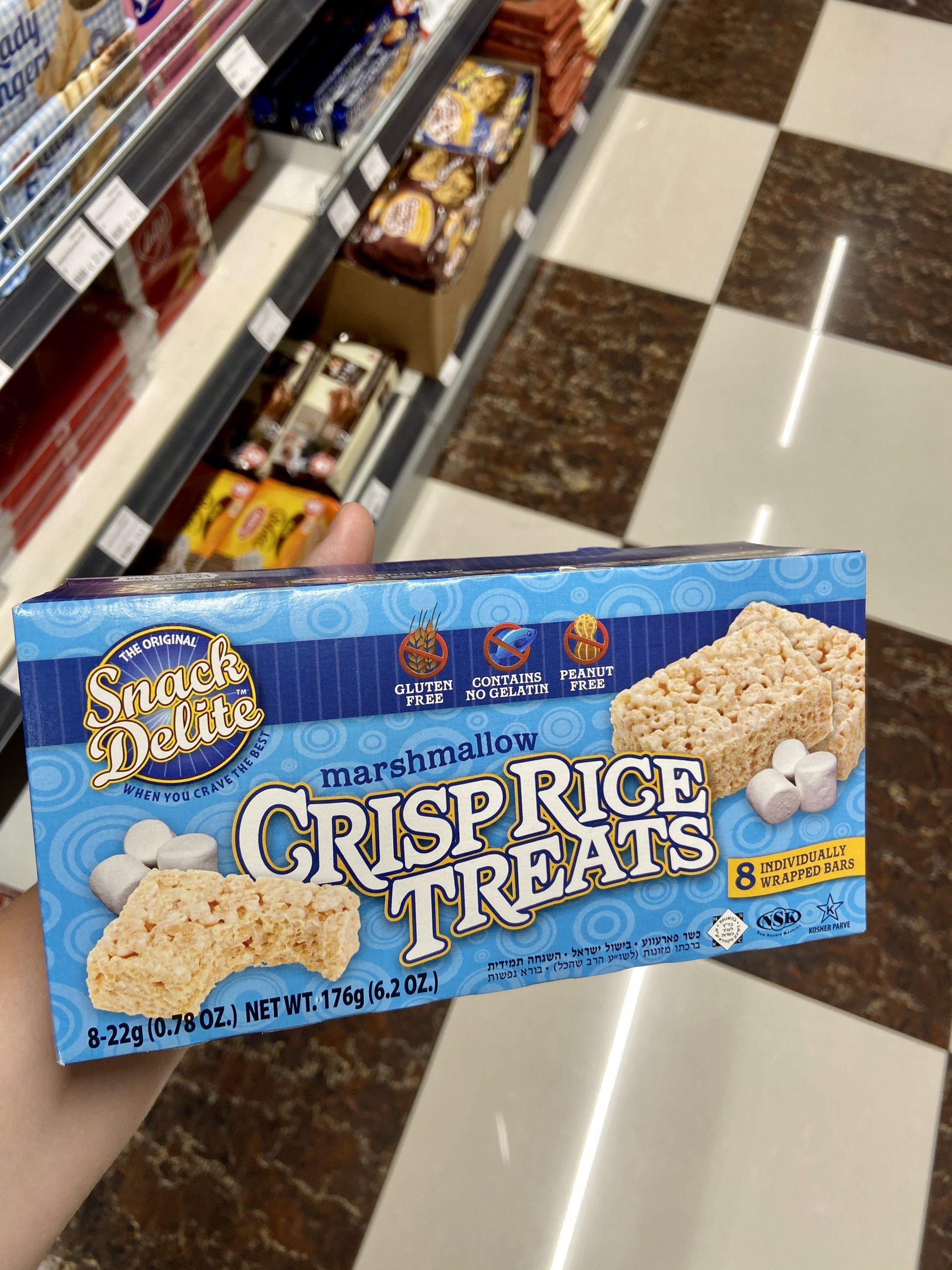 Glutenfreie Marshmallow Reis Cracker