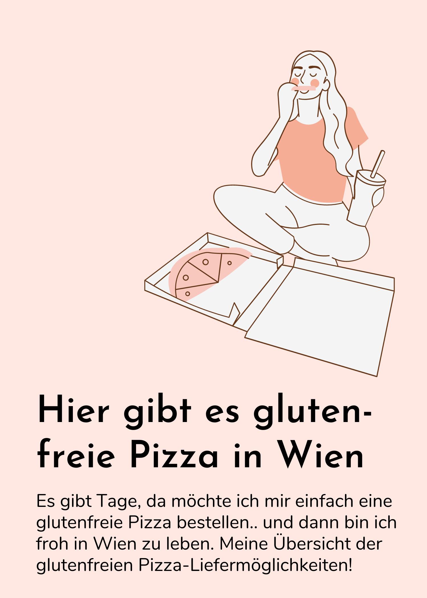 Glutenfreie Pizza bestellen in Wien – in diesen Pizzerien klappts auch mit Zöliakie